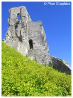 Corfe Castle by i4Photography
