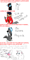 Azurehowl Meme by AquaArtist532