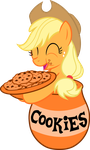 I can eat all these cookies! by FilPaperSoul