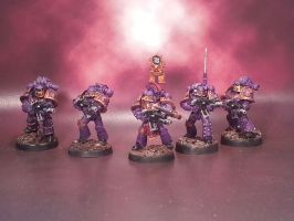 Pre-Heresy Emperor's Children Tactical Squad Pt 2 by deathsarmour