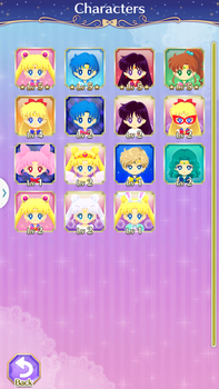 Sailor Moon Drops Characters I got so far by NatouMJSonic