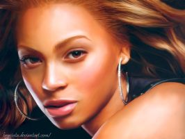 Painting Beyonce by FP-Digital-Art