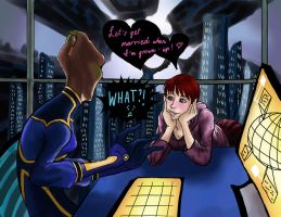 ME_Bonnie and Kahz_The Proposal by Ngoc12