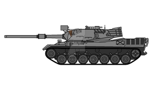 Leopard 1. The best medium tank of German line by COLT731