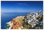 Postcard from Santorini by ZephonSoul