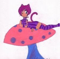Cheshire Cat by OroMyKenshin by Alice-fanclub