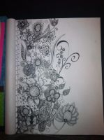Zentangle4 by gardenscrapper