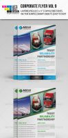 Corporate Flyer Template Vol 9 by jasonmendes