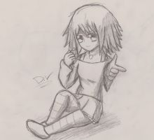 Simple Mizore Sketch by marioandsonic-14