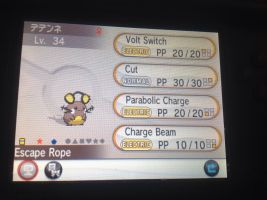 Pokemon x and y shiny dedenne for sale :3 by alucardserasfangirl