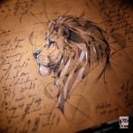 20170320 Lion Psdelux by psdeluxe
