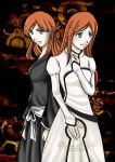 Bleach: Inoue's face by eyes2blues
