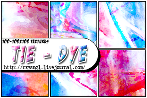 100-100x100 Tie-Dye Textures by princess-RxY