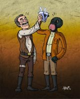 Dr. Evazan and Ponda Baba by stayte-of-the-art