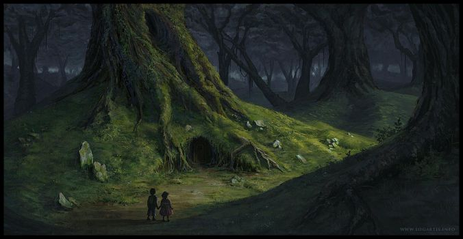 Home in the forest by logartis