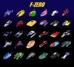 F-ZERO Tribute X Variant by revivedracer209