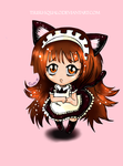 Chibi maid by Tsusu-Squalo