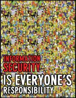 Information security poster by naveenmamgain