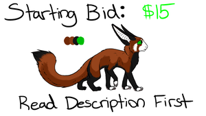 Adoptable AUCTION #2: CLOSED by Ice-Artz
