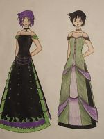 Two Dresses by Sue680Phantom