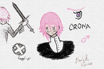Crona Doodles by CrypticCharmander