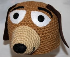 Toy Story Slinky Dog Beanie by rainbowdreamfactory