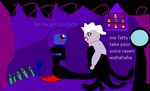 Ursula  has raven in her tentclues by mewt66