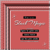 BlackMagic-Marcos PNG. by BySadnessAl