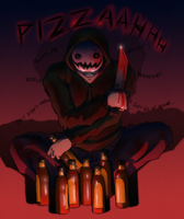 Pizzaaahhhh by tantus