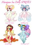 Maraquan Sea Dolly SPRITE adopts OPEN! by SquidPuke
