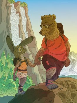 The Hike by jaxeller
