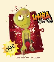 zomba action figure by cuax