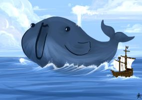 WHALE WHALE WHALE, WHAT DO WE HAVE HERE. by Neila078