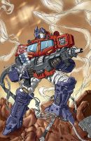 Optimus Prime COLORS by JSA