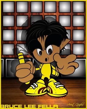 Bruce Lee Fella by MD-AVENT