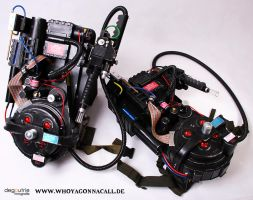 Ghostbusters Proton Pack by kathy1602