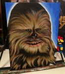 Happy Wookiee by SculptorScotty