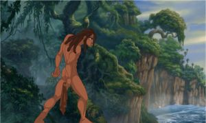 Set-13 Tarzan . Swim by galaxcardinal