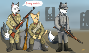 Meanwhile in Stalingrad by Strafy