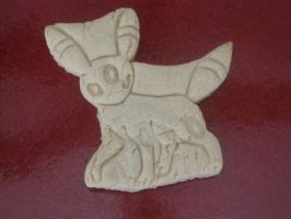 Umbreon Baked Cookie by B2Squared