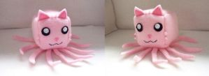 Tentacle Kitty Cube Plushie by Cube-lees