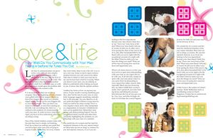 Magazine Layout 2 by EyelessAngel