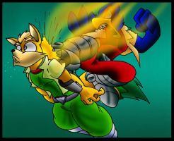 Falco Kick. by Virus-20