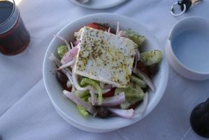 The Real Greek Salad by 96jac