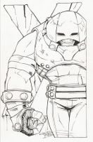 sketchy. Juggernaut by KidNotorious