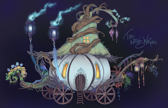 The Witch's Wagon Home Adopt CLOSED by Forged-Artifacts