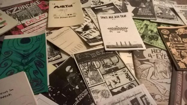 Amog the (zine) masses by Don-O