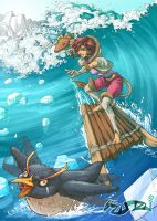Surfing ZUAZU by fabzim