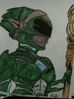 Green Ranger 2017 by glantern825