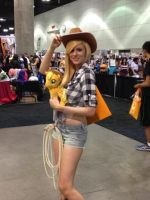 AX 2014 - Applejack MLP:FiM cosplay by SpaceStation91